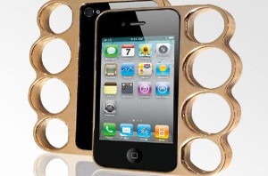 LolliMobile Knuckle Case for iPhone4/4S - Gold/Copper