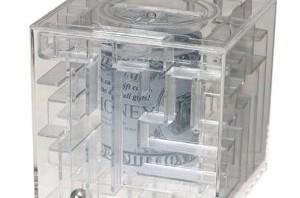 MagNif Money maze Puzzle