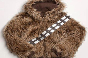 Ecko Star Wars Furry Choco Covered Chewie Reversible Mens Jacket