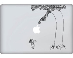 Giving Tree Decal - Laptop Decal Sticker Graphic